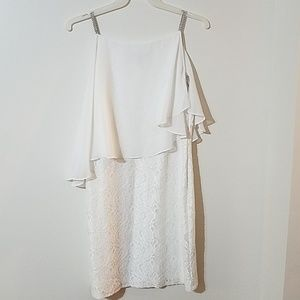 White Lace Special Occasion Dress